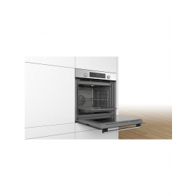 Bosch HBS534BS0B Built-In Single Oven, Stainless Steel - 1