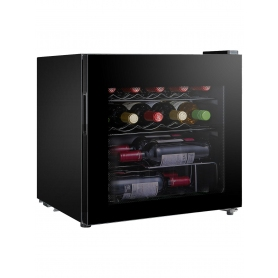 LEC DF48B Small Wine and Beer Fridge, Black