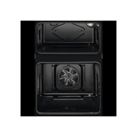 Zanussi ZOD35661XC Double Built In Electric Oven - 1